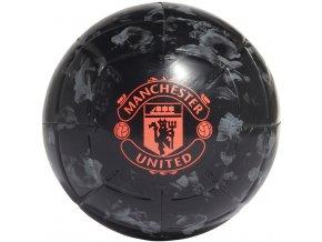 Futbalová lopta Adidas Manchester United Capitano čierna DY2527