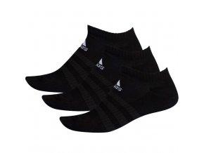 Ponožky Adidas Cushlined Low 3PP čierne DZ9385