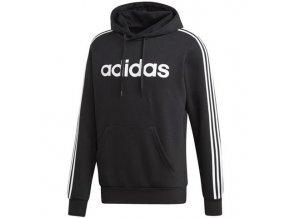 bluza meska adidas ess 3s czarna dq3096 przod