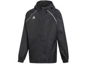 Pánska bunda adidas Core 18 Rain čierna CE9048