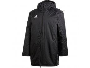 Pánska bunda adidas Core 18 Stadium black CE9057