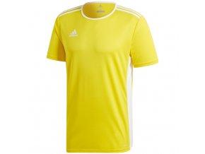 Adidas Entrada 18 Jersey pánske tričko farba žltá CD8390