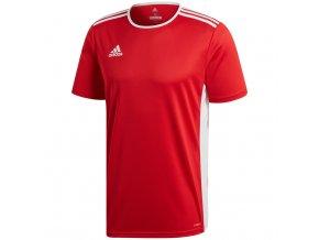 Adidas Entrada 18 Jersey pánske tričko červené CF1038
