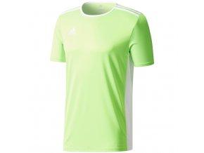 Pánske tričko Adidas Entrada 18 Jersey farba limetka CE9758