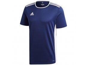 Adidas Entrada 18 Jersey Navy Blue pánske tričko CF1036
