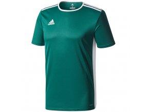 Adidas Entrada 18 Jersey pánske tričko farba zelená CD8358