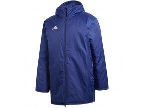 Pánska bunda Adidas Core 18 Stadium navy blue CV3747
