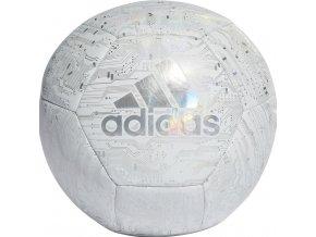 Futbalová lopta Adidas Capitano bielo-šedá DY2569