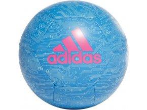 Futbalová lopta Adidas Capitano modro-ružová DY2570
