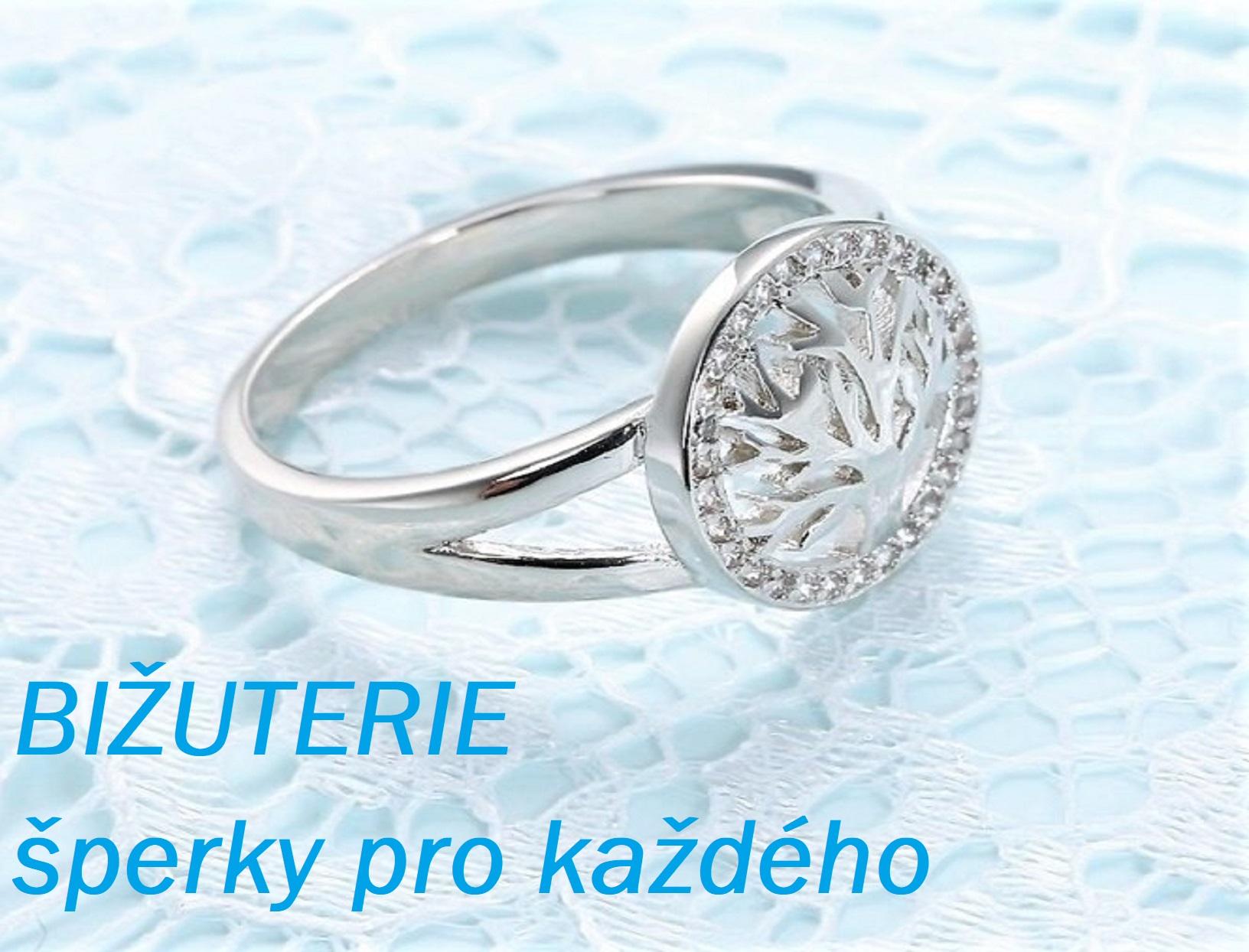 Bižuterie - brože-přívěsky-náušnice-prsteny