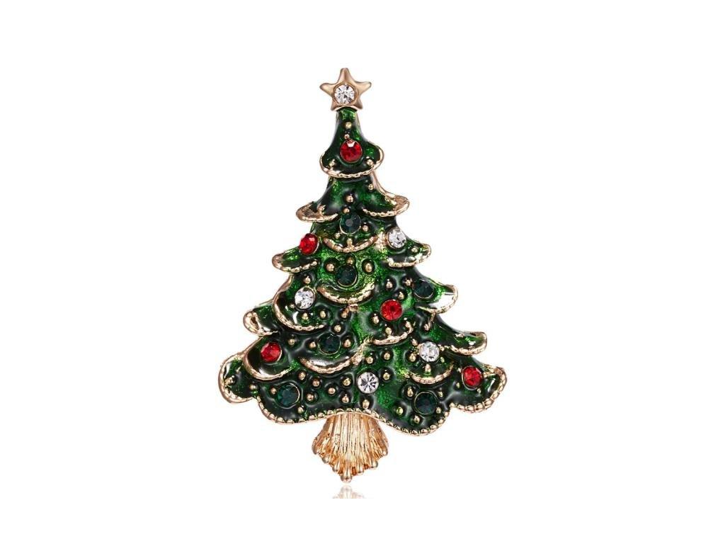 vánoční strom zlatý