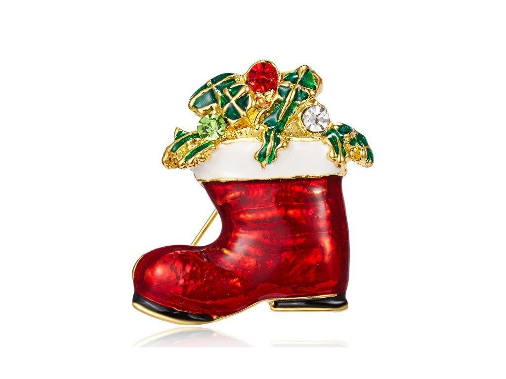 bota červená