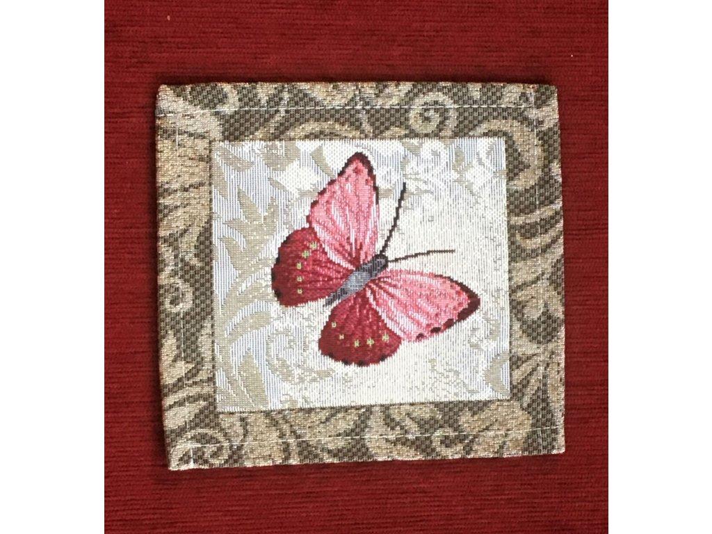prostírání malé motýl M