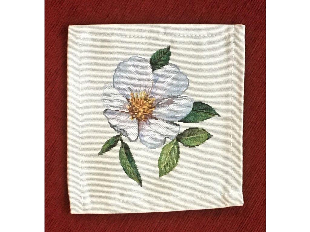 prostírání jabloňový květ malé M