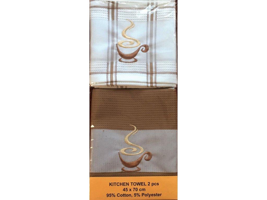 utěrky šálek kávy