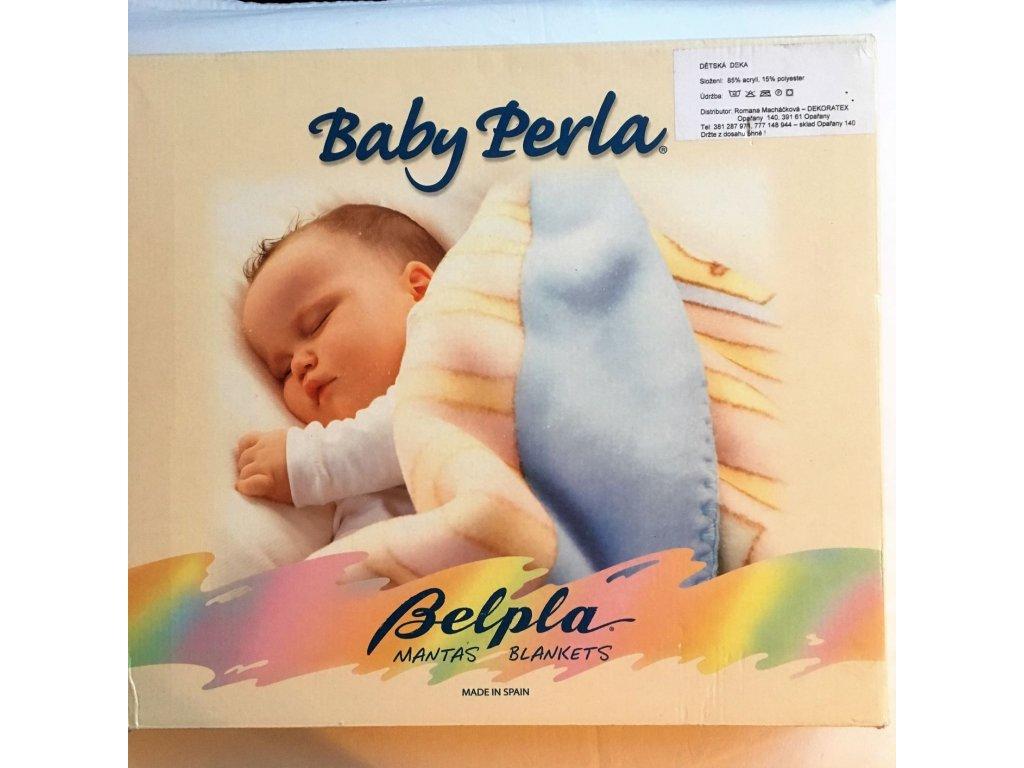 baby Perla žlutá