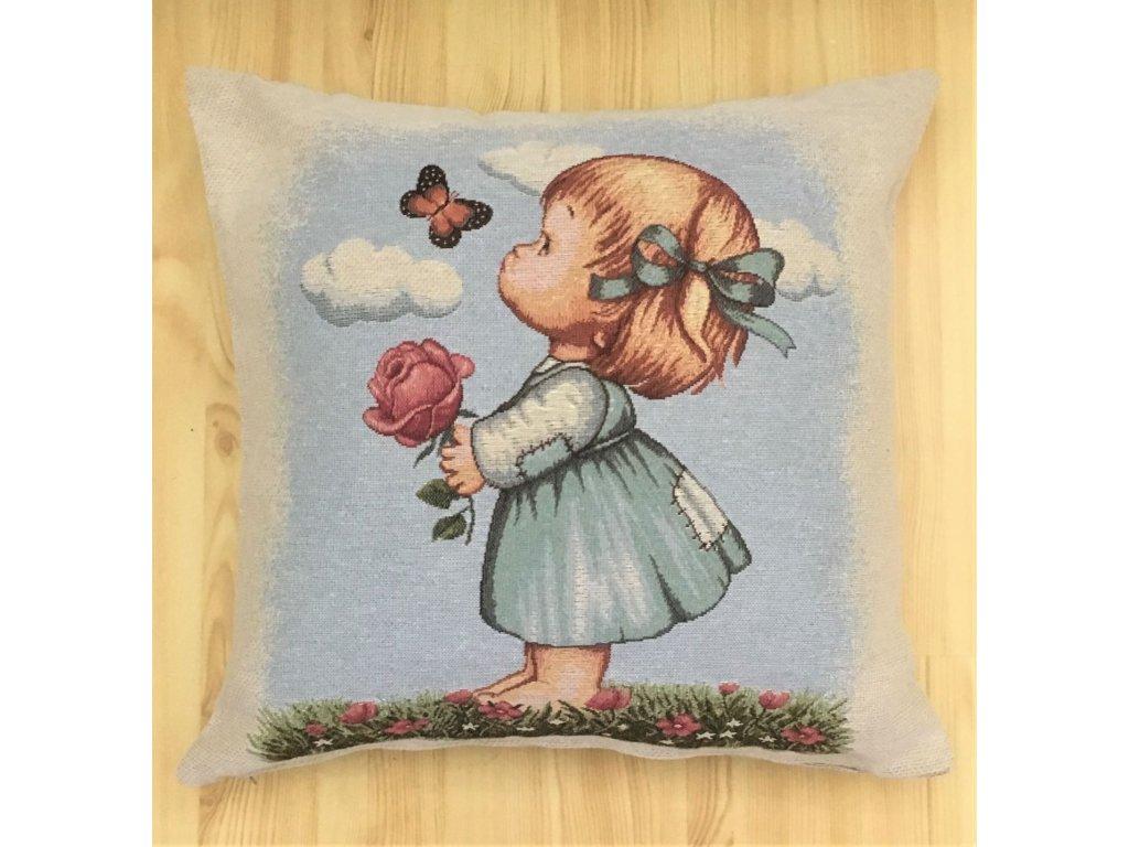 holčička s motýlkem 2