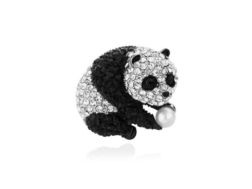 panda s perlou