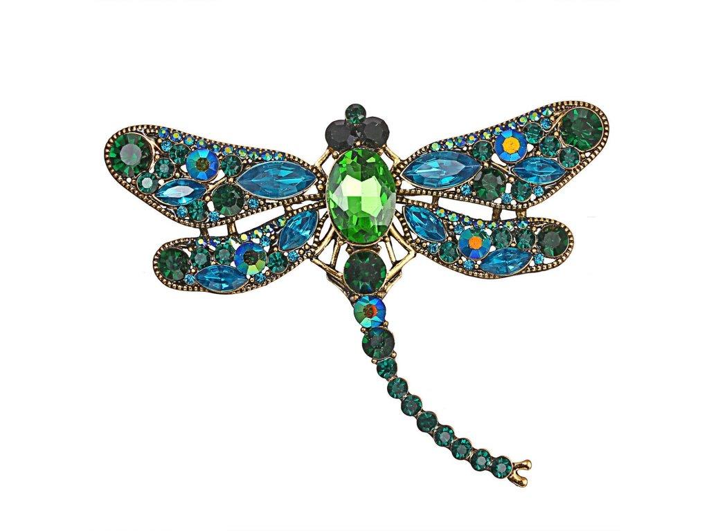 vážka modrozelená