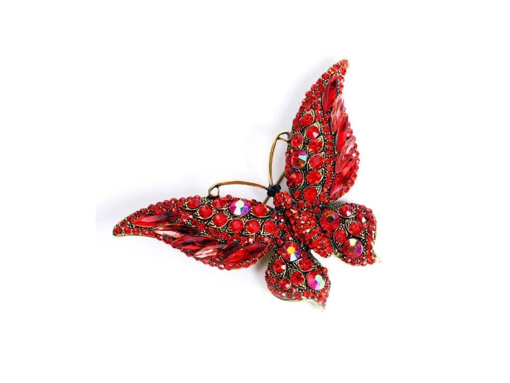 motýl červený 1