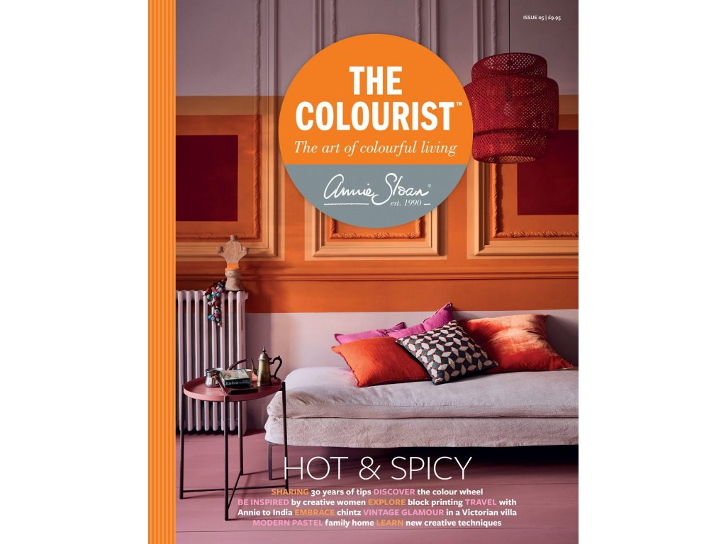 rthe colourist issue 5 front cover