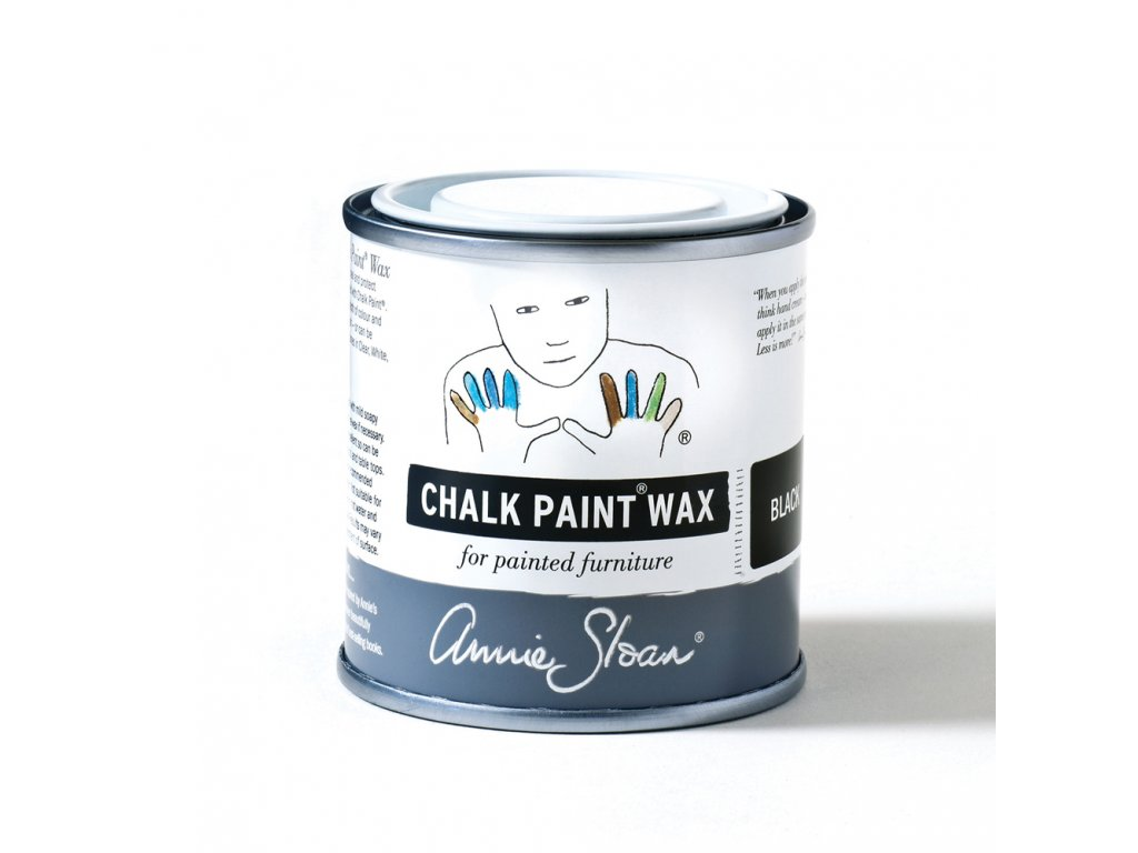 Black Chalk Paint Wax non haz 120ml