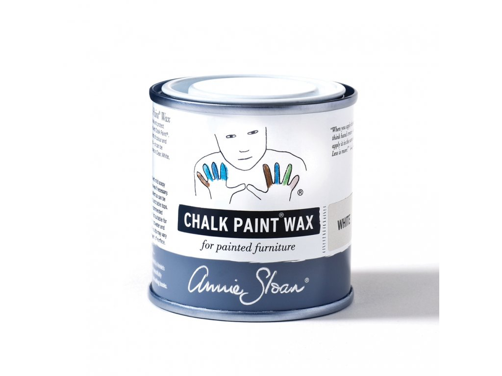 White Chalk Paint Wax non haz 120ml