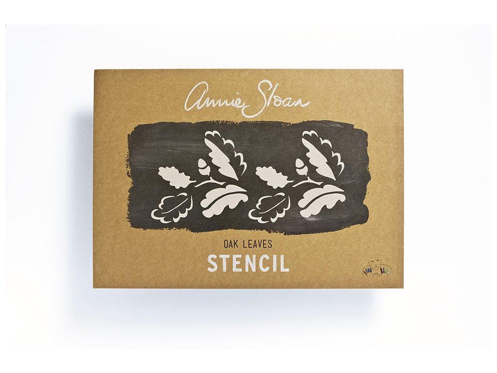 Annie Sloan Stencil Oak Leaves