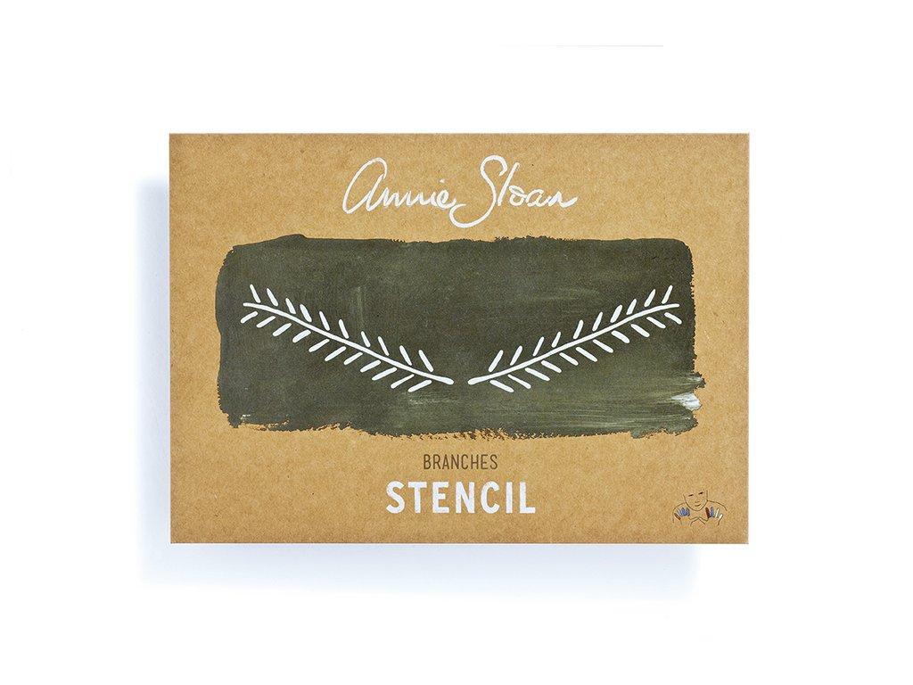 Annie Sloan Stencil Branches
