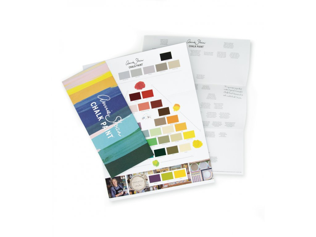 Chalk Paint Colour Card 1