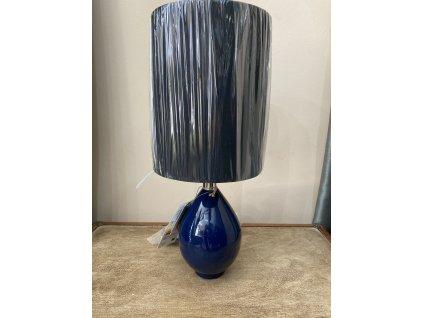 Indická lampa modrá
