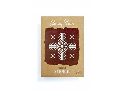Annie Sloan Stencil Tallulah