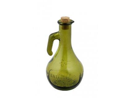 Láhev na olej OLIVE 0,5l tmavě lahvově zelená