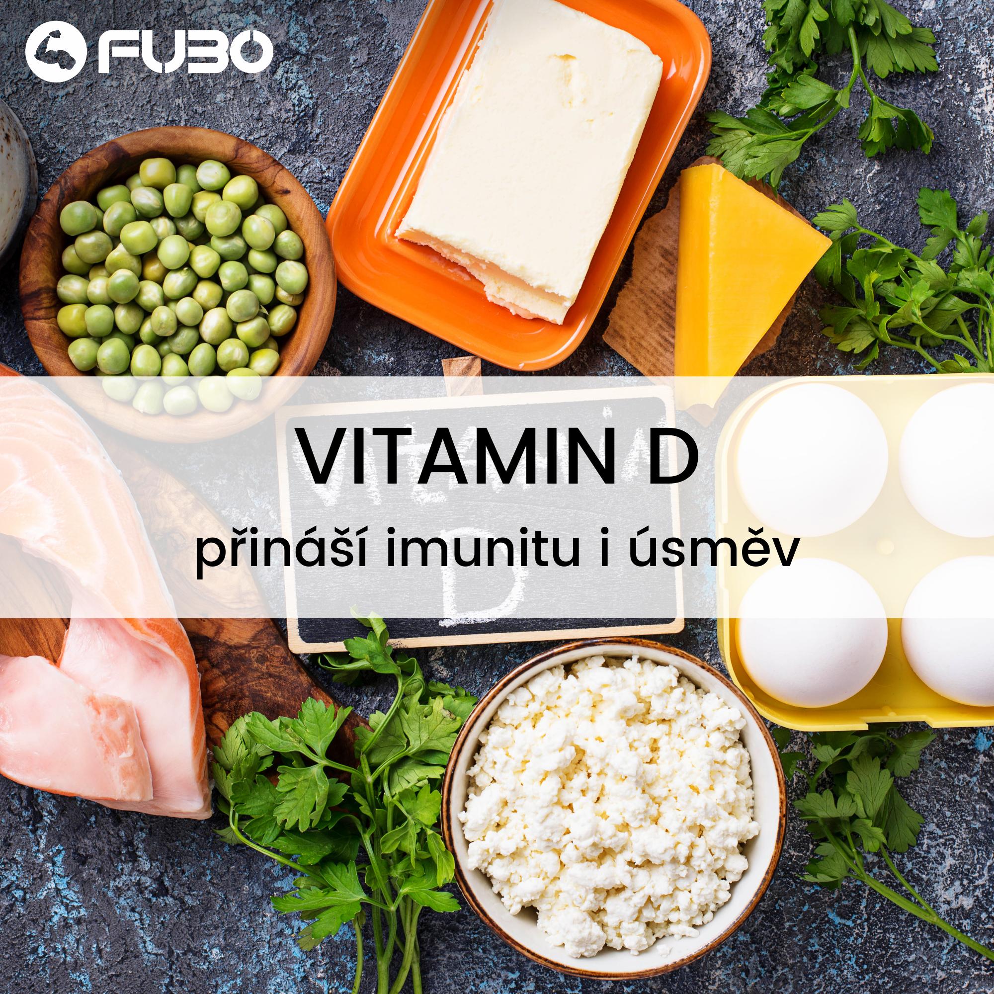 Vitamín D – pomocník, kterého dnes oceníme víc než kdy jindy