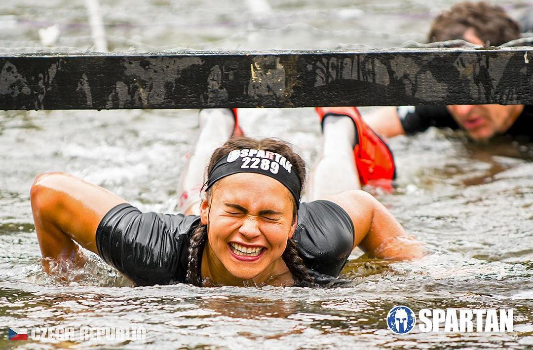 spartan race ve vodě
