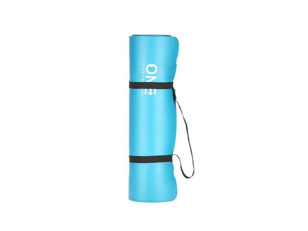 Jóga podložka ONE Fitness YM30 modrá