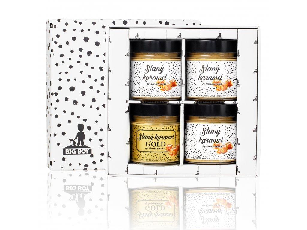 2159 krabicka slany karamel gold