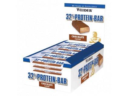 Weider 32% Protein Bar 60 g  EXSPIRACE 12/2020