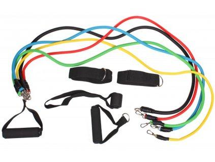 Fitness Band Set posilovacích gum