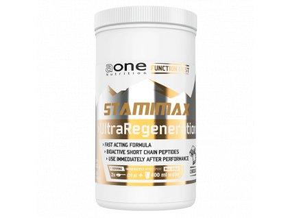 AONE Stamimax UltraRegeneration 500g syrovátkový hydrolyzát s dextrózou a fruktózou