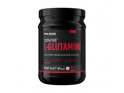 Body Attack 100% Pure L-Glutamine 400 g