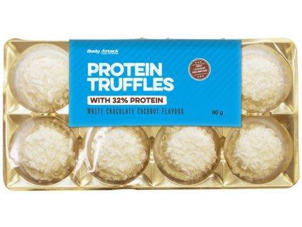 Body Attack Protein Truffles With 32% protein čokoládové pralinky s vysokým obsahem bílkovin
