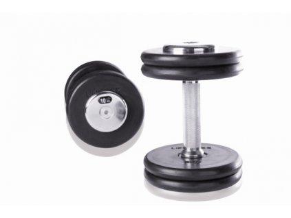 Diskové jednoručky gumové pár, Crossmaxx (Váha 60 kg)