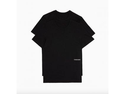 Calvin Klein 2Pack Woman T-Shirts STATEMENT 1981 Black