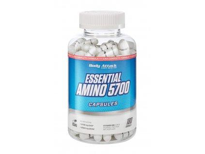Body Attack Essential Amino 5700 180 kapslí