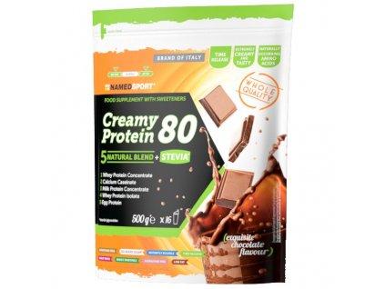 NAMEDSPORT Creamy Protein 80% 500 g vícesložkový protein slazený stevií