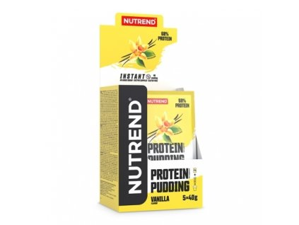 protein pudding box vanilla 2021