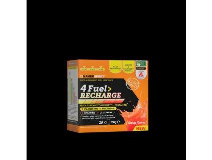 NAMEDSPORT 4 Fuel Recharge 14x119g tréninkové pití s minerály kreatinem a glutaminem