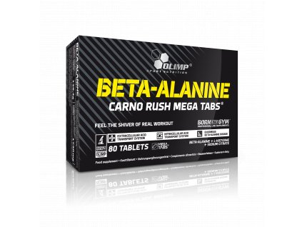 Beta-Alanin Carno Rush 120 kapslí