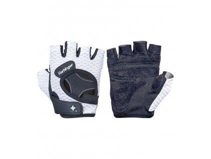 Dámské fitness rukavice 139 bílé Harbinger